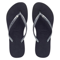 HAVAIANAS SLIM CRYSTAL ADULT - GREY