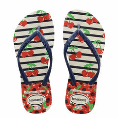 HAVAIANAS KIDS SLIM FASHION - CHERRY