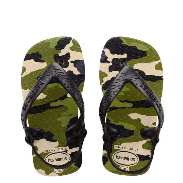 HAVAIANAS BABY CHIC - ARMY