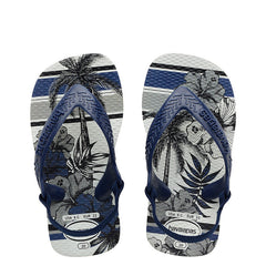 HAVAIANAS BABY CHIC 20 - BLUE PALM