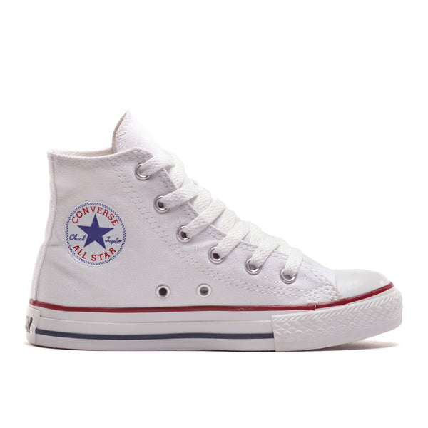CONVERSE HIGH ADULT SIZES - WHITE