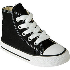 CONVERSE HIGH BOOT KIDS & YOUTH - BLACK