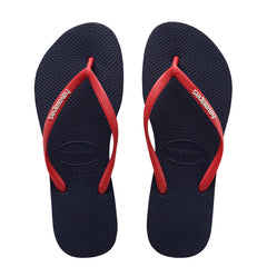 HAVAIANAS KIDS SLIM RUBBER - NAVY RED