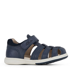 CLARKS KARL II E FIT - NAVY