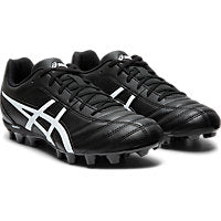 ASICS LETHAL FLASH FOOTBALL BOOTS - BLACK WHITE