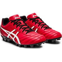 ASICS LETHAL FLASH FOOTBALL BOOTS - RED WHITE