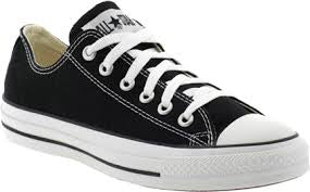 CONVERSE LOW LACE - BLACK