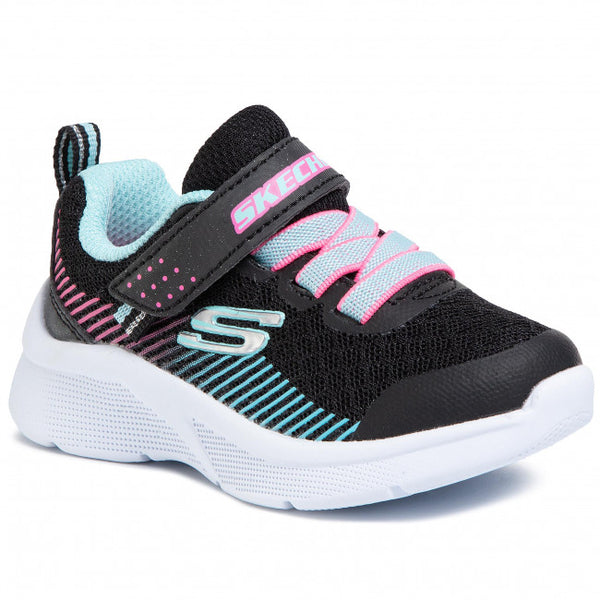SKECHERS MICROSPEC - BLACK AQUA