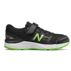 NEW BALANCE YD680 VELCRO - BLACK GREEN