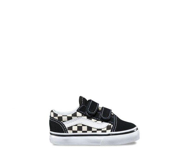 VANS OLD SKOOL INFANT - CHECK BLACK WHITE