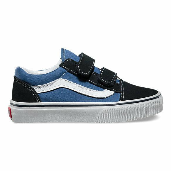 VANS OLD SKOOL YOUTH - NAVY WHITE