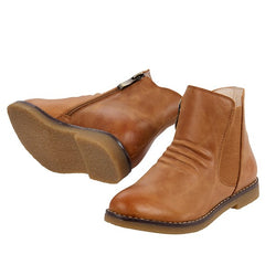 RED BOOTIE SACHA - TAN
