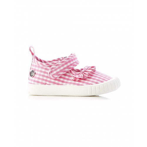 WALNUT MARY JANE CLASSIC - PINK GINGHAM