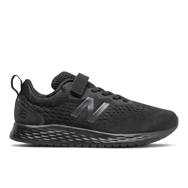 NEW BALANCE ARISHI VELCRO 3 - BLACK BLACK