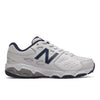 NEW BALANCE 680 LACE - WHITE NAVY