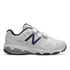 NEW BALANCE 680 VELCRO - WHITE NAVY
