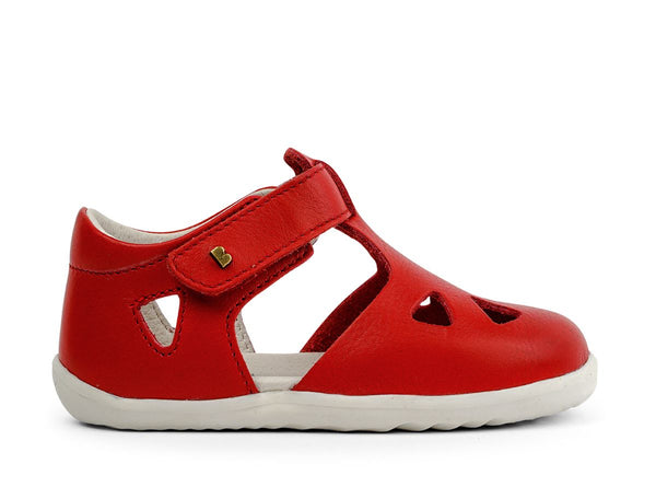 BOBUX ZAP STEP UP SANDAL - RED