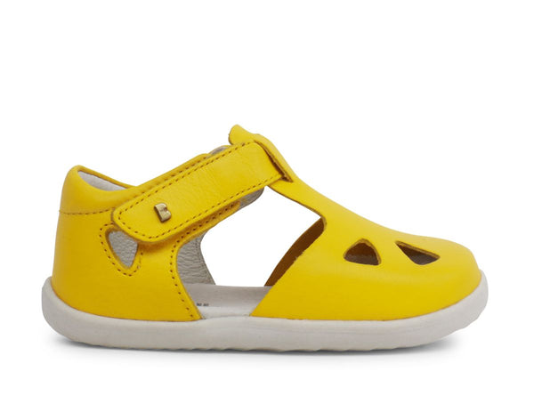 BOBUX ZAP STEP UP SANDAL - YELLOW