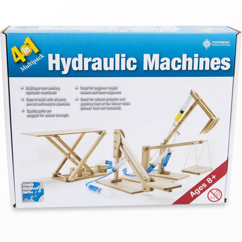 4 in 1 hydraulic machines kit-science & nature-Pathfinders-Dilly Dally Kids