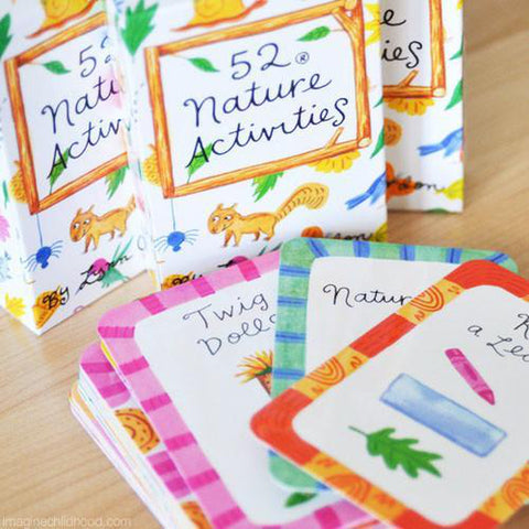 52 nature activities card deck-science & nature-Raincoast-Dilly Dally Kids