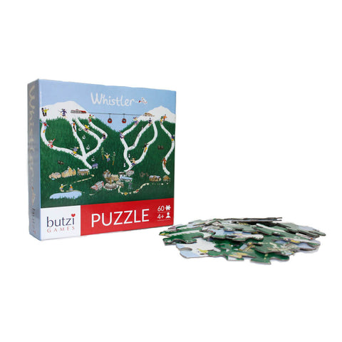 60 piece Whistler puzzle-puzzles-Butzi-Dilly Dally Kids