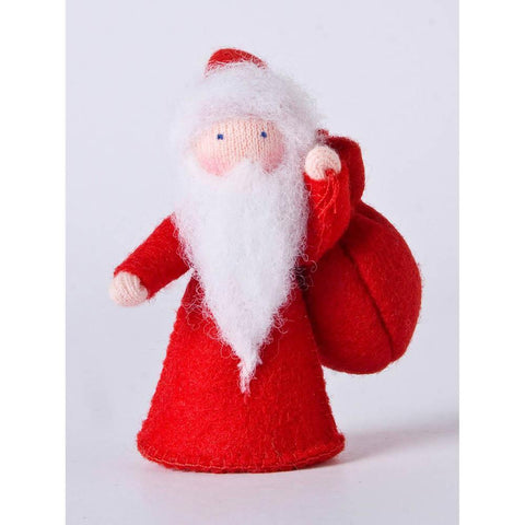 Ambrosius felt doll santa claus-people, animals & lands-Ambrosius-Dilly Dally Kids