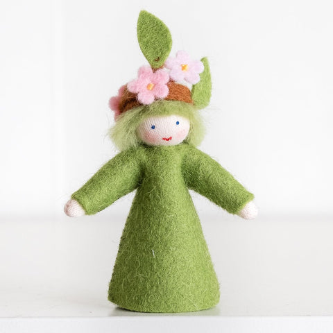 Ambrosius wool felt doll - blooming branch-people, animals & lands-Ambrosius-Dilly Dally Kids