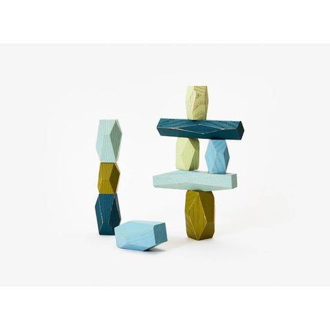 Areaware balancing blocks - ocean-blocks & building sets-Areaware-Dilly Dally Kids