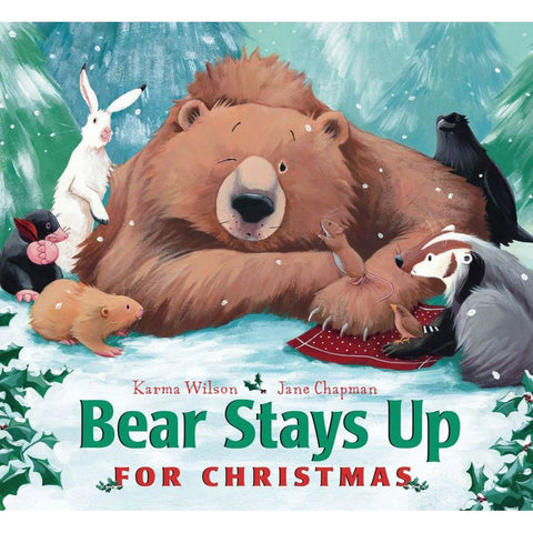 Bear Stays Up for Christmas book-Christmas & Holidays-Simon & Schuster-Dilly Dally Kids