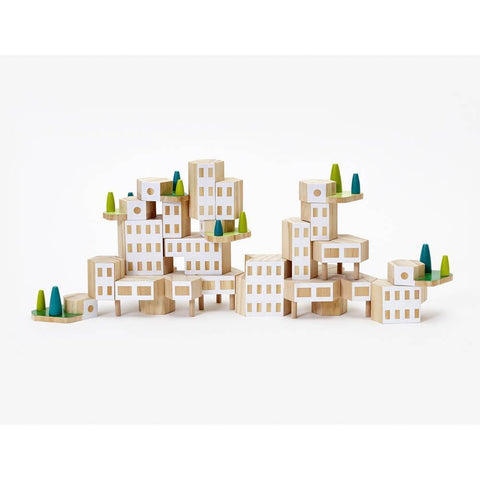 blockitecture garden city mega set-pocket money-Areaware-Dilly Dally Kids