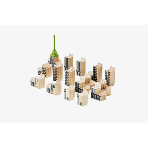 Blockitecture NYC skyscraper set