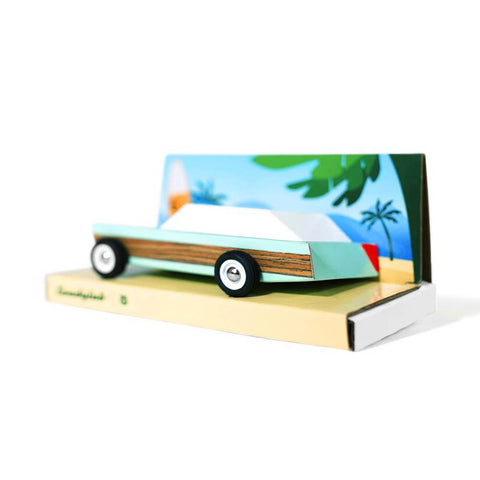 Candylab junior woodie station wagon car-cars, boats, planes & trains-Candylab Wooden Cars-Dilly Dally Kids