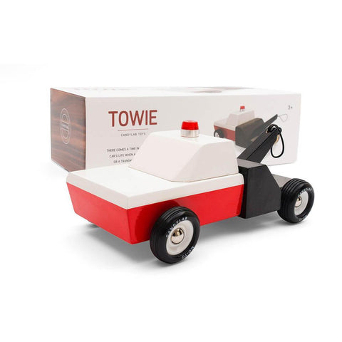 Candylab towie truck-cars, boats, planes & trains-Candylab Wooden Cars-Dilly Dally Kids