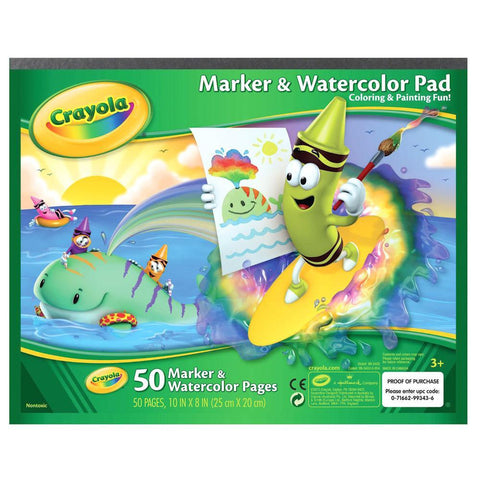Crayola marker and watercolour paper-art supplies-Crayola-Dilly Dally Kids