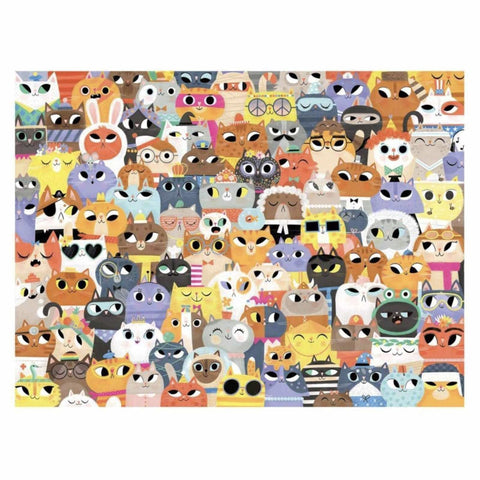 Crocodile Creek lots of cats 500 piece puzzle