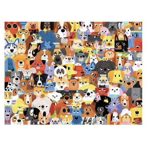 Crocodile Creek lots of dogs 500 piece puzzle