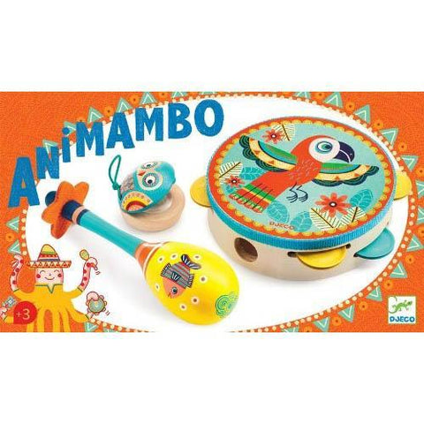 Djeco animambo musical instrument set-music-Djeco-Dilly Dally Kids