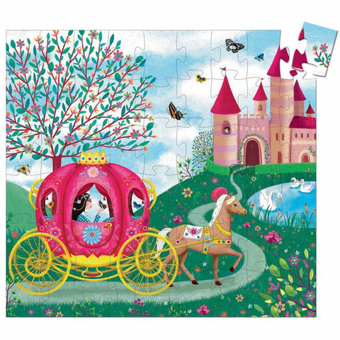 Djeco Elise's 54 piece carriage puzzle-puzzles-Djeco-Dilly Dally Kids