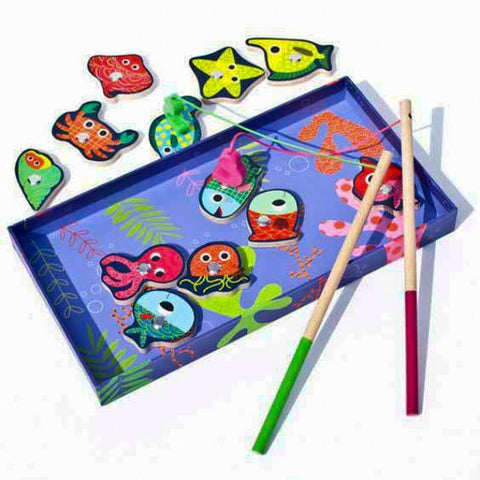 Djeco magnetic fishing game-games-Djeco-Dilly Dally Kids