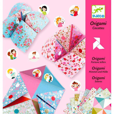 Djeco origami fortune teller kit-arts & crafts-Djeco-Dilly Dally Kids
