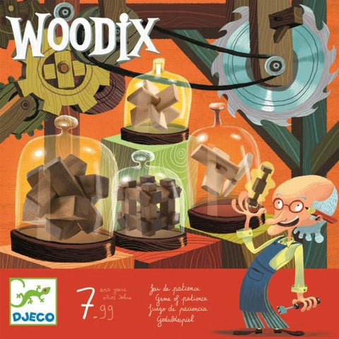Djeco woodix wooden puzzles set-puzzles-Djeco-Dilly Dally Kids