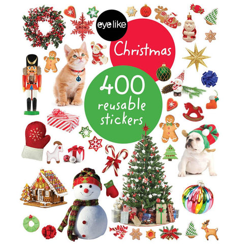 Eyelike Christmas sticker book-Christmas & Holidays-Thomas Allen-Dilly Dally Kids