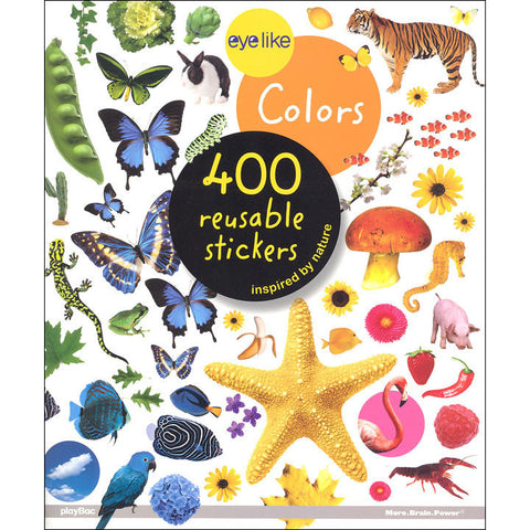 Eyelike Colours sticker book-arts & crafts-Thomas Allen-Dilly Dally Kids