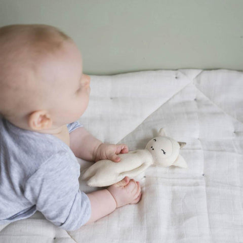 Fabelab soft unicorn rattle-baby-Fabelab-Dilly Dally Kids
