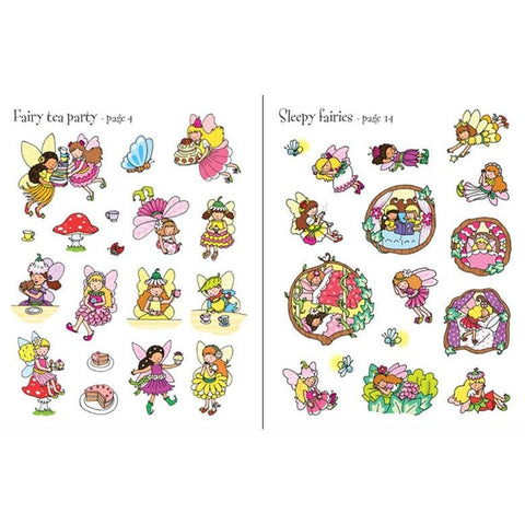 fairies sticker book-activity books-Harper Collins-Dilly Dally Kids