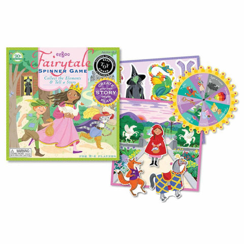 fairytale spinner game-games-eeBoo Toys & Gifts-Dilly Dally Kids