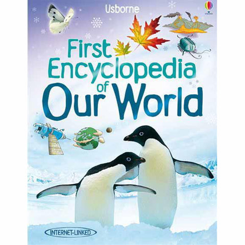 Usborne First Encyclopedia of Our World-Science & Nature-Harper Collins-Dilly Dally Kids