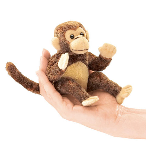 monkey finger puppet-puppets-Fire the Imagination-Dilly Dally Kids