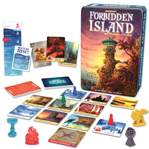 Forbidden Island game-games-Kroeger-Dilly Dally Kids
