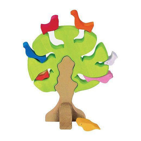 Gluckskafer bird tree - light-blocks & building sets-Fire the Imagination-Dilly Dally Kids